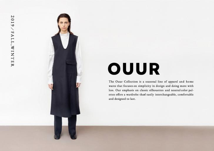 OUUR 2019 Fall / Winter Collection