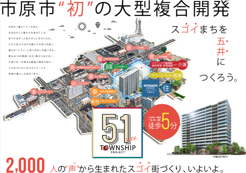 WITHEARTH RESIDENCE 市原五井